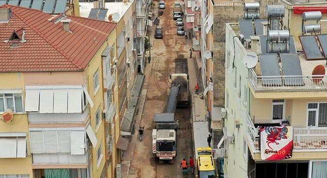 Üçgen Mahallesi'nde cadde ve sokak yenileniyor