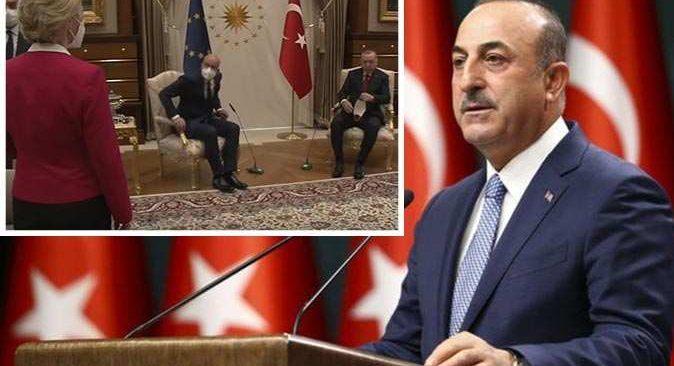 Bakan Mevlüt Çavuşoğlu çok tartışılan görüntü ile ilgili açıklama yaptı
