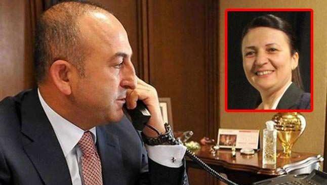 Alanyalı Dışişleri Bakanı Mevlüt Çavuşoğlu'dan Gaye Coşkun'a tebrik