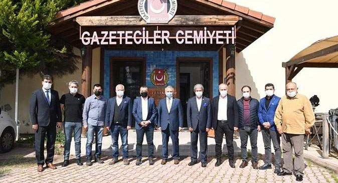 Vali Yazıcı'dan Antalya basınına övgü: Yerel basın çok güçlü
