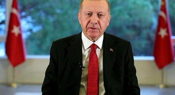 Son dakika... Düşen uçak ile ilgili Cumhurbaşkanı Erdoğan'dan ilk açıklama