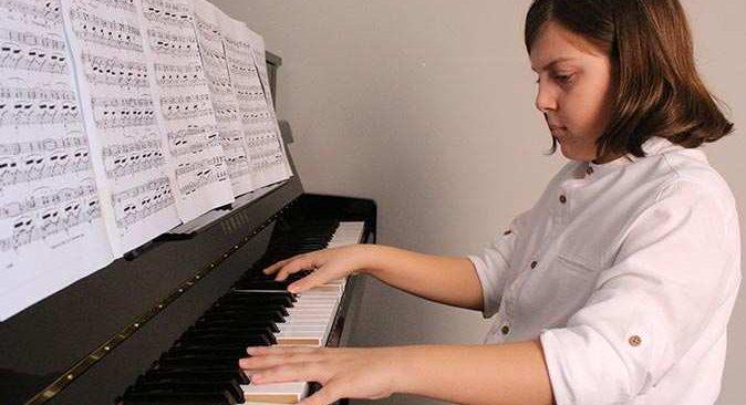 Türkiye'nin gururu Ege Kaan Öztaş'ın hayali ünlü bir piyanist olmak