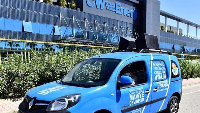 OSB'de 'Mavi OSB Mavi Antalya' hareketi başladı