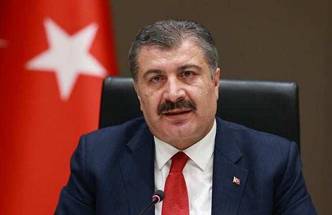 Sağlık Bakanı Fahrettin Koca vaka sayısı en çok artan ve azalan illeri açıkladı