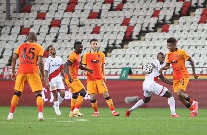 Son dakika... Galatasaray Antalya deplasmanından galibiyetle döndü