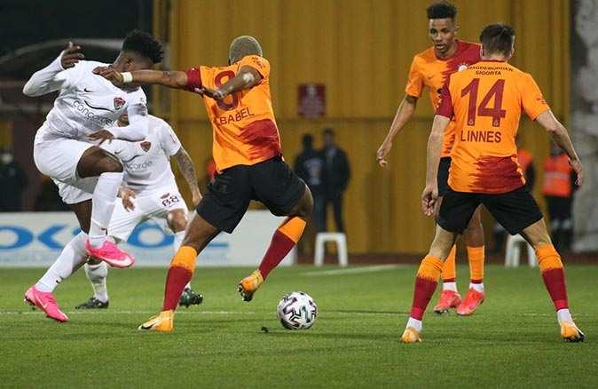 Galatasaray Hatay'da yıkıldı