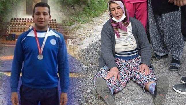 Antalya'da güreşçi oğlunu kazada kaybetti! Annenin feryadına yürek dayanmaz...
