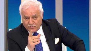 Nihat Hatipoğlu'nu sinirlendiren soru...