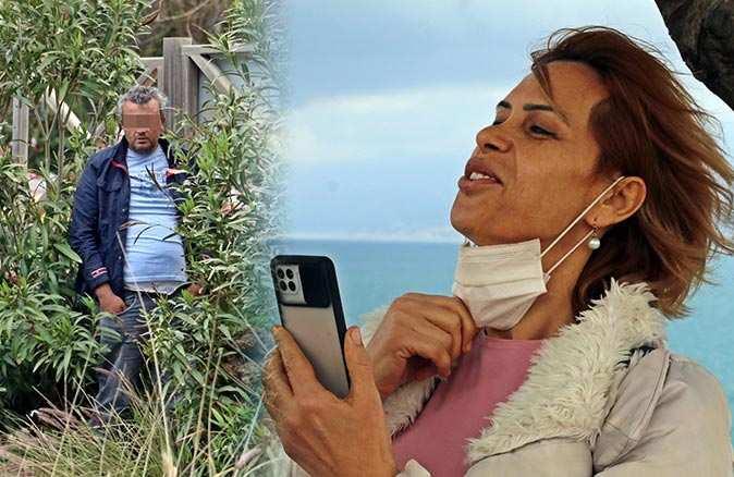 Antalya'da intihar girişimini izlerken canlı yayın yaptı!