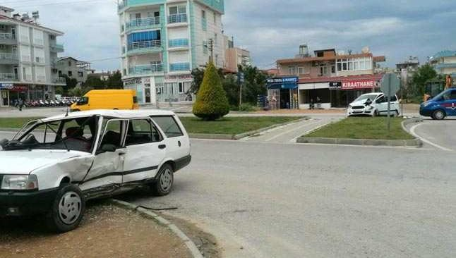 Antalya'da feci kaza... Yaralılar var!