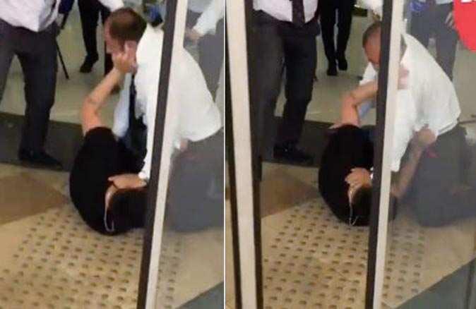 Antalya'da AVM girişinde maske krizi! Tekme tokat kavga ettiler