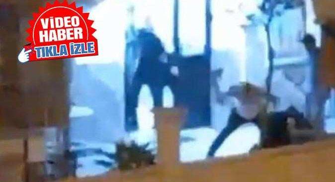 Antalya'da tekmeli yumruklu kavga! O anlar saniye saniye kaydedildi