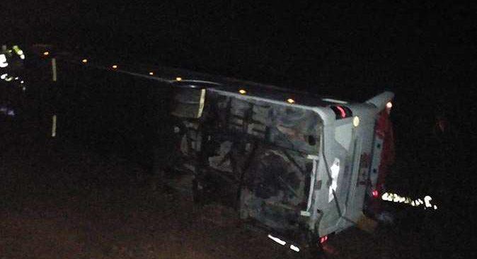SON DAKİKA... Sivas'ta feci kaza! Çok sayıda yaralı var