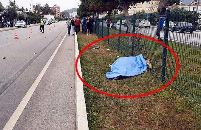Yaya geçidinden geçmek isteyen Süleyman Oktaroğlu hayatını kaybetti