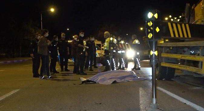 Antalya'da park halindeki vincin demir ayağına çarpan Murat Sungur hayatını kaybetti
