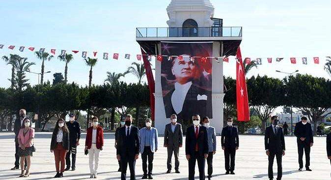 Kemer'de 23 Nisan Ulusal Egemenlik ve Çocuk Bayramı kutlandı