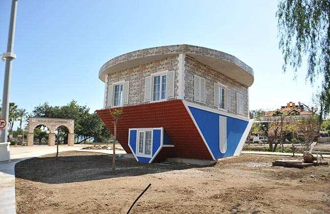 Kemer'de Atatürk Parkı projesi için çalışmalar tüm hızıyla sürüyor