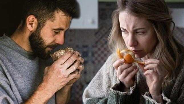 Covid geçiren erkek 'yanık lastik', kadın 'çürümüş soğan' kokusu alıyor