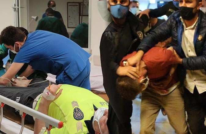 Antalya'da polise çarpıp kaçtı, kovalamacanın ardından yakalandı