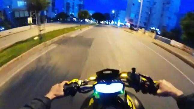 Antalya'da kural tanımayan motosiklet sürücüsüne ceza yağdı