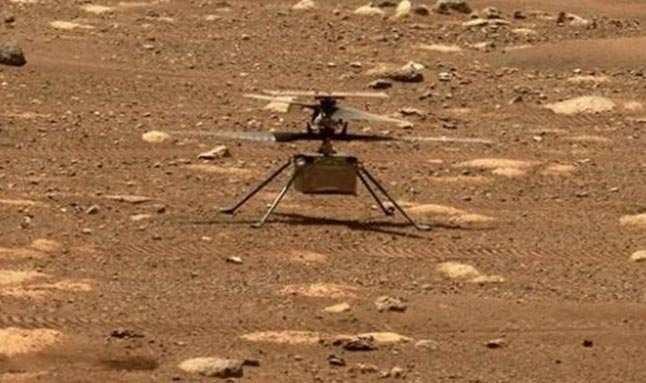 Mars'ta ilk kez bir helikopter uçuruldu