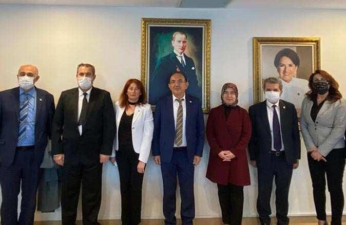 İl Başkanı Mehmet Başaran'dan Meral Akşener'e ziyaret
