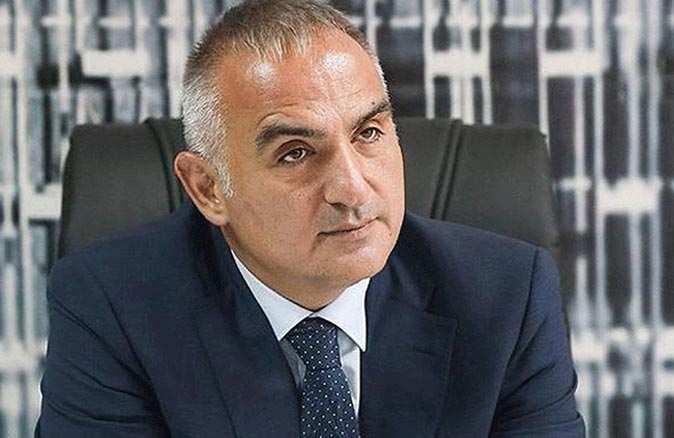 Kültür ve Turizm Bakanı Mehmet Nuri Ersoy açıkladı: Turizm çalışanları Mayıs sonuna kadar aşılanacak