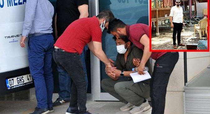 Antalya'da ölü bulunan Ahmet Uğur'un cenazesi morgdan alındı