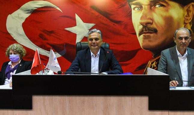 Muratpaşa'nın faaliyet raporu oybirliğiyle kabul edildi