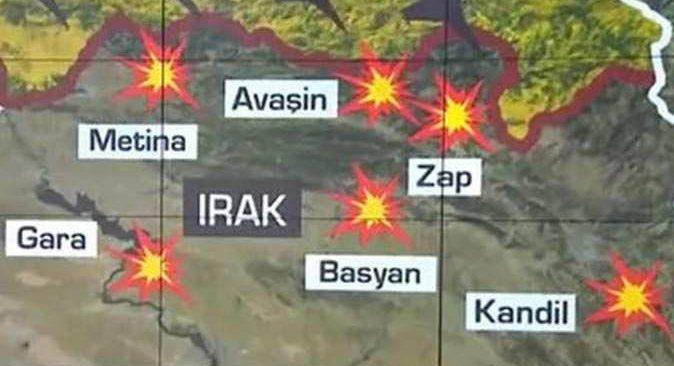 Kuzey Irak'ta geniş çaplı operasyon!