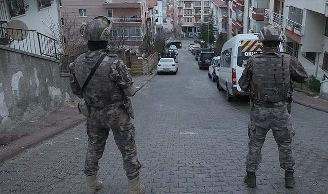 Ankara merkezli 8 ilde uyuşturucu satıcılarına yönelik operasyon