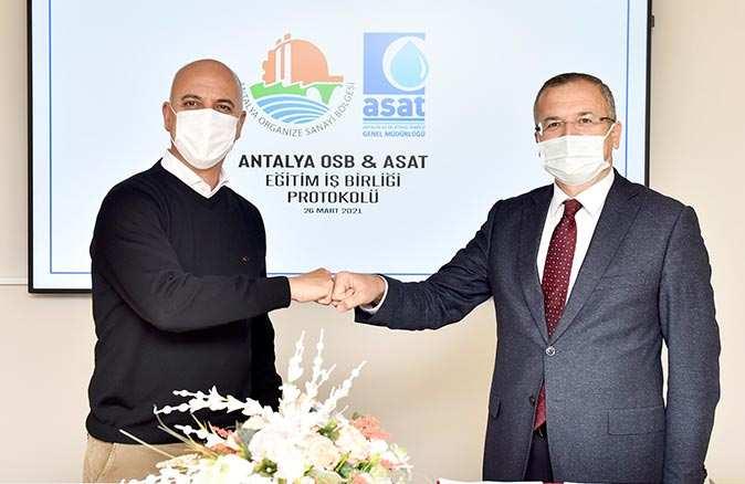 ASAT çalışanları artık Antalya OSB eğitimlerinden yararlanabilecek