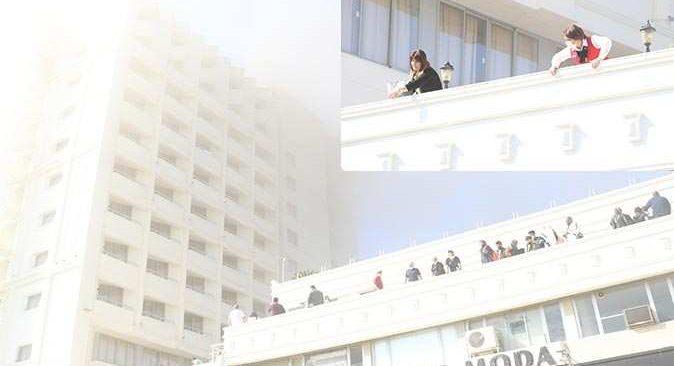 Muratpaşa'daki 4 yıldızlı otelde yangın çıktı