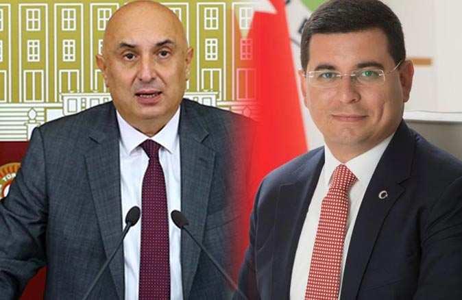 CHP Grup Başkanvekili Engin Özkoç ilçe isimlerini karıştırdı! Başkan Hakan Tütüncü sert çıktı