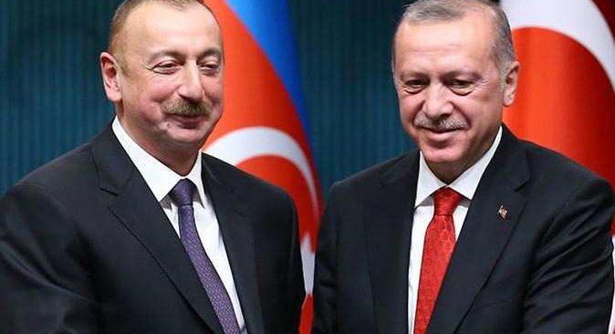 Son dakika.... Cumhurbaşkanı Recep Tayyip Erdoğan, İlham Aliyev ile görüştü