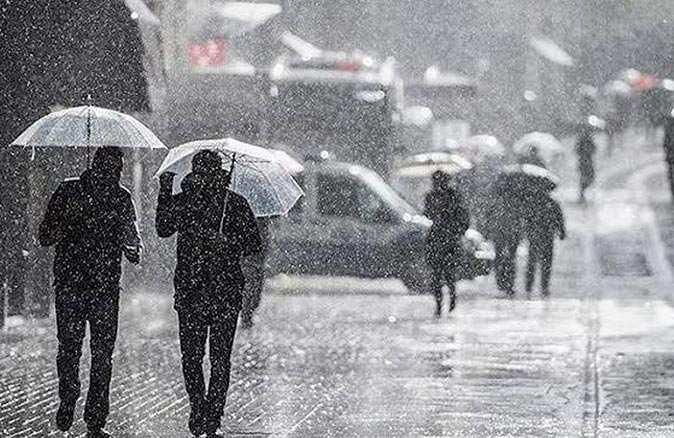 Meteoroloji'den o bölgelere sağanak yağış uyarısı
