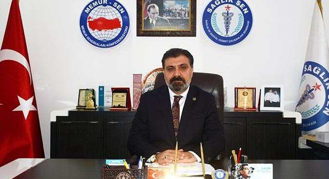Sağlık-Sen Antalya Şube Başkanı Kuluöztürk'ten 'bildiri' açıklaması: Kabul edilemez