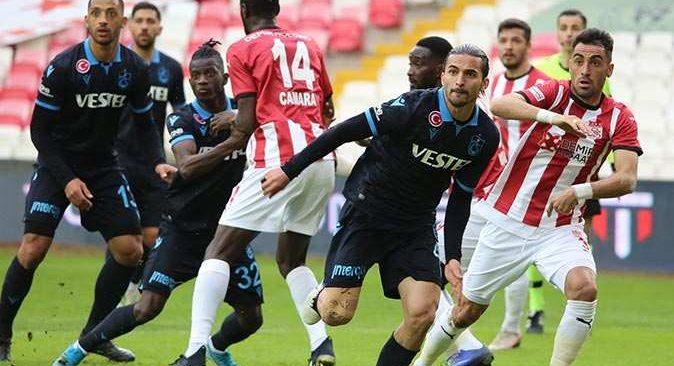 Son dakika... Trabzonspor Sivasspor ile golsüz berabere kaldı