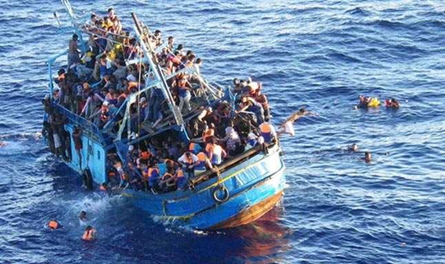 Son dakika: Akdeniz'de tekne kazası! 100'ün üzerinde göçmen hayatını kaybetti