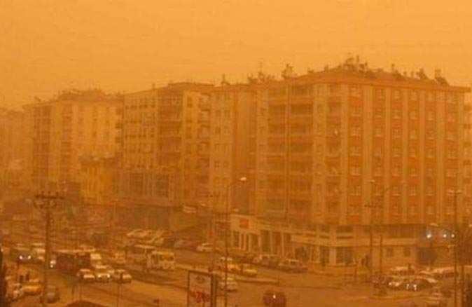 Meteoroloji'den birçok bölge için toz taşınımı uyarısı