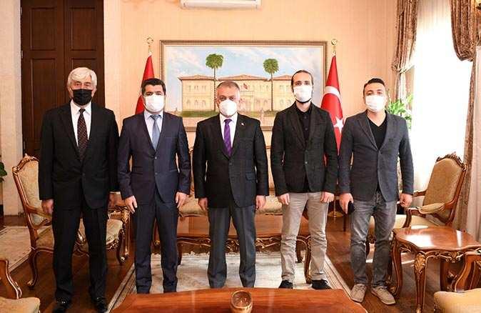 TSYD'den Vali Ersin Yazıcı'ya ziyaret