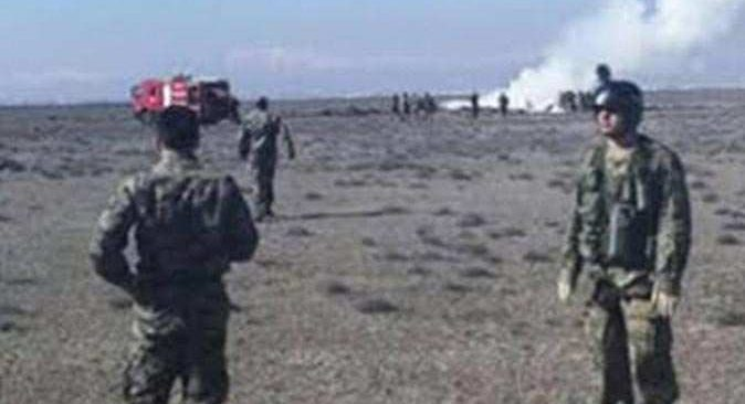 SON DAKİKA... Konya'da gösteri uçağı düştü