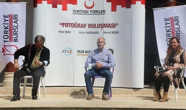 Uluslararası öğrenciler Avrupa'daki başarılı foto muhabirleri ile Antalya'da buluştu