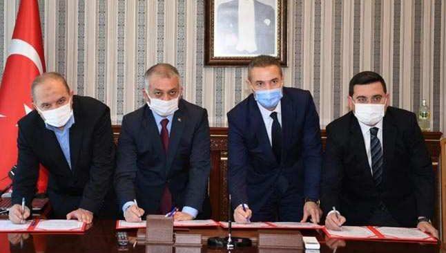 Antalya'da son 3 haftada 3 okul protokolü imzalandı