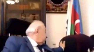 Azerbaycanlı eski vekilden sekreterine şok hareket!