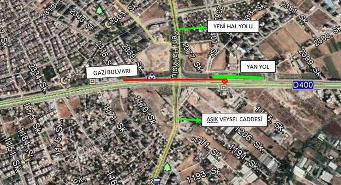 Antalyalılar dikkat! Hal Köprülü Kavşağı trafiğe kapatılacak