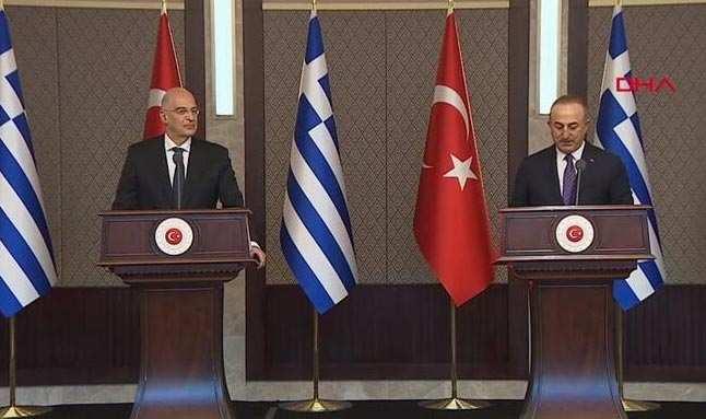 Son dakika: Yunan Dışişleri Bakanı Ankara'da! Bakan Çavuşoğlu'ndan önemli açıklamalar