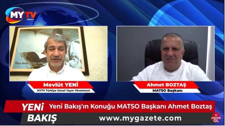 MATSO Başkanı Ahmet Boztaş koronavirüse yenik düştü