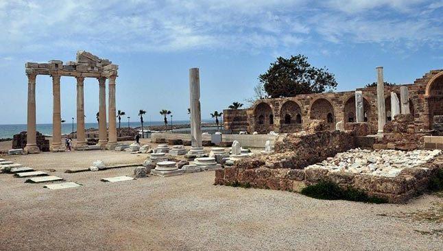 Turizm merkezi Antalya doğal güzellikleriyle görsel şölen sunuyor
