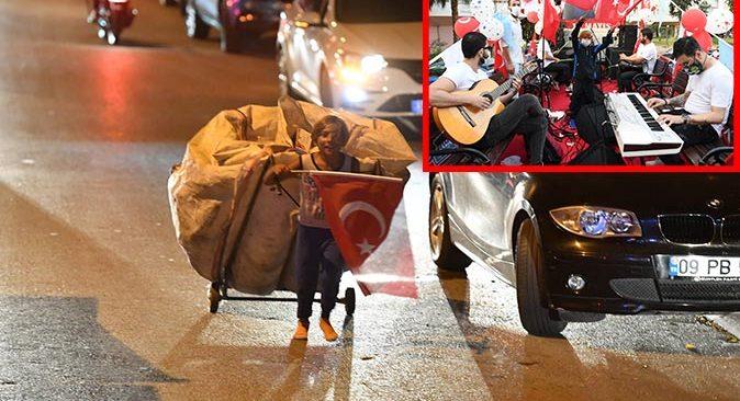 Antalya'da 19 Mayıs tırının arkasından 2 kilometre koştu, Başkan Esen devreye girdi!